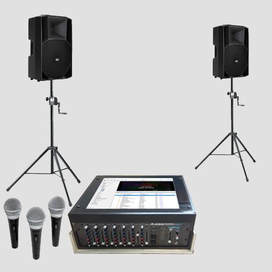 karaokeset M met geluidset