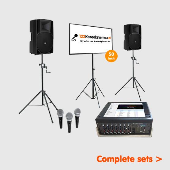 complete karaoke set