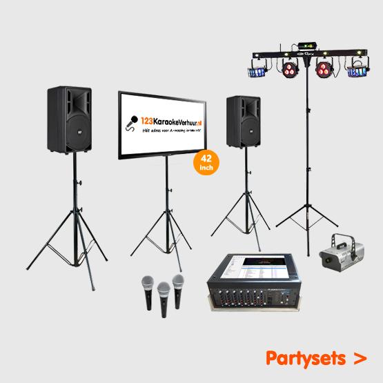 karaoke party set